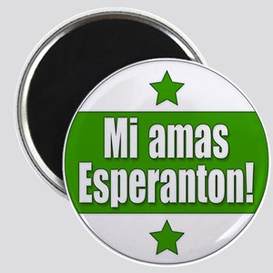 Mi Amas Esperanton Magnet