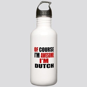 Of Course I Am Dutch Stainless Water Bottle 1.0L