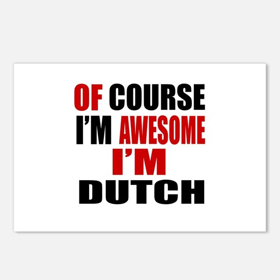 Of Course I Am Dutch Postcards (Package of 8)