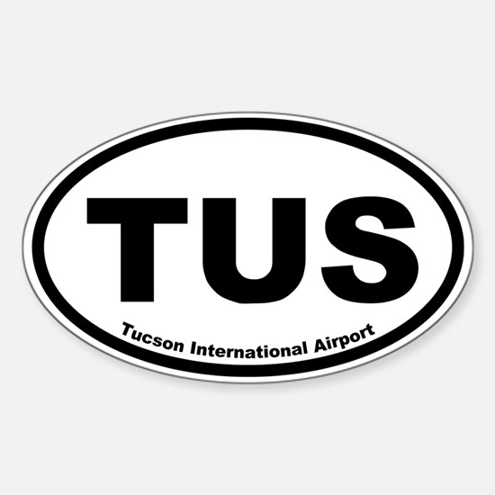 Tucson International Airport Oval Decal