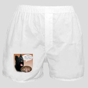 Briard Turkey Boxer Shorts