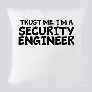 Trust Me, I'm A Security Engineer Woven Throw