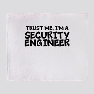 Trust Me, I'm A Security Engineer Throw Blanke