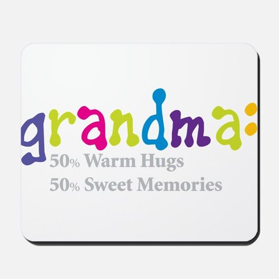 grandma warm hugs Mousepad