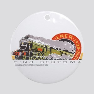 Flying Scotsman Ornament (Round)