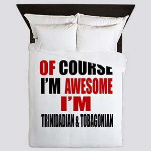 Of Course I Am Trinidadian & Tobagonia Queen Duvet