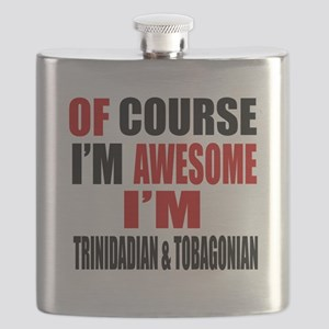 Of Course I Am Trinidadian & Tobagonian Flask