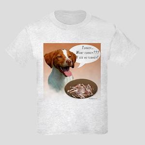 Brittany Turkey Kids Light T-Shirt
