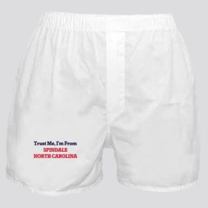 Trust Me, I'm from Spindale North Car Boxer Shorts