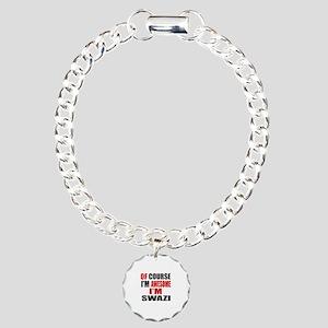 Of Course I Am Swazi Charm Bracelet, One Charm