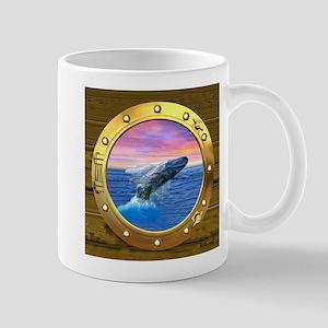 Breaching Humpback Whale Mugs