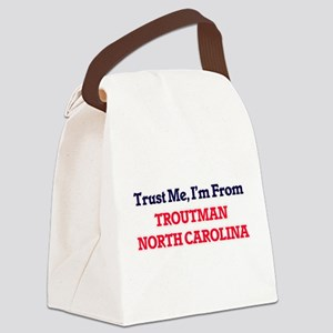 Trust Me, I'm from Troutman North Canvas Lunch Bag