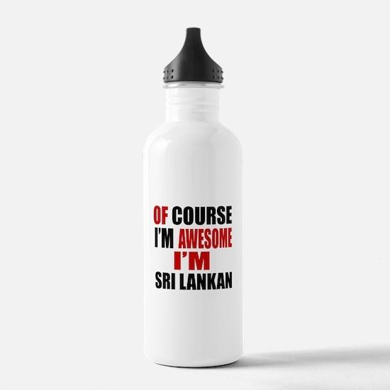 Of Course I Am Sri Lan Water Bottle