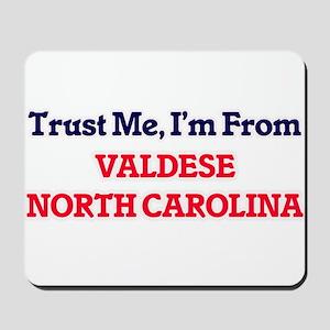 Trust Me, I'm from Valdese North Carolin Mousepad