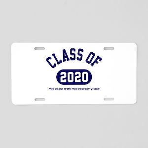 Class of 2020 Aluminum License Plate