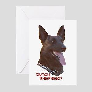 Dutch Shepherd Greeting Cards (Pk of 10)