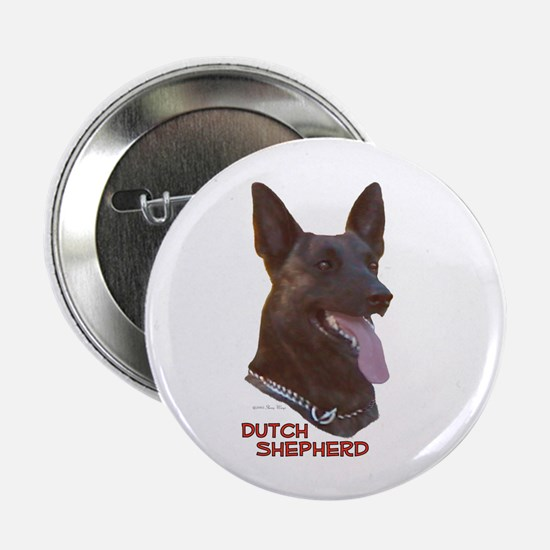 Dutch Shepherd Button