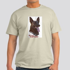Dutch Shepherd Ash Grey T-Shirt