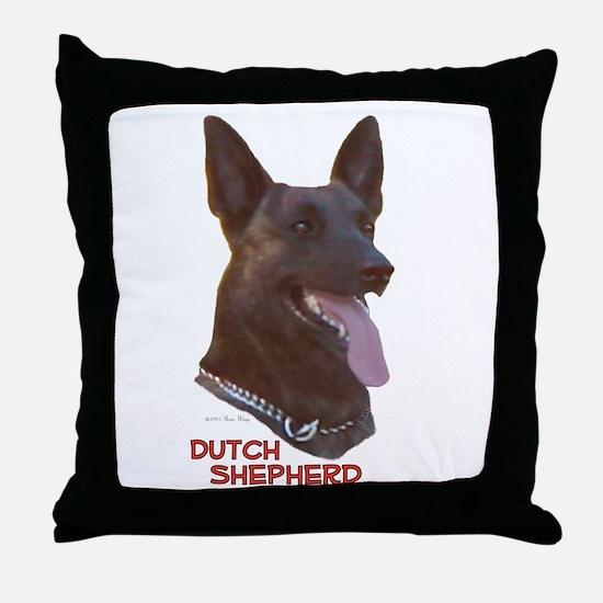 Dutch Shepherd Throw Pillow