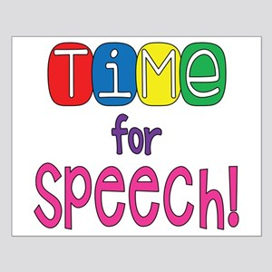 Time For Speech Small Poster