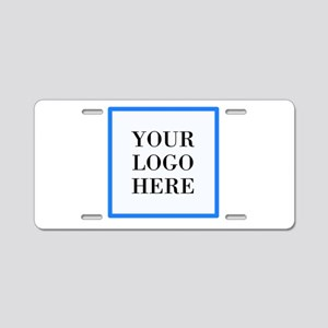 Your Logo Here Aluminum License Plate