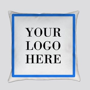 Your Logo Here Everyday Pillow