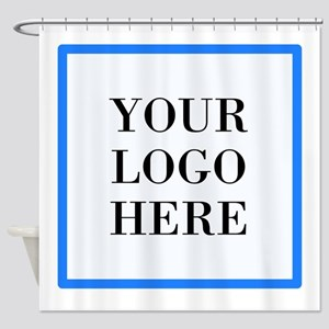 Your Logo Here Shower Curtain