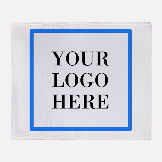 Your Logo Here Throw Blanket