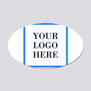 Your Logo Here Wall Decal