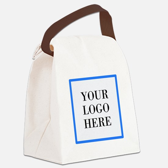 Your Logo Here Canvas Lunch Bag
