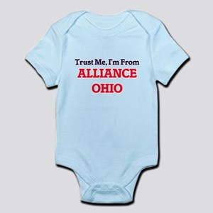Trust Me, I'm from Alliance Ohio Body Suit