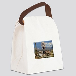 Tucson Police Skyline Canvas Lunch Bag