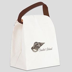 Sanibel Island Canvas Lunch Bag
