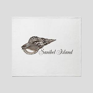 Sanibel Island Throw Blanket