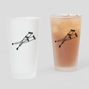 MetalCrutches082010 Drinking Glass