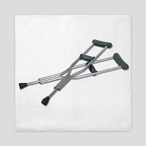 MetalCrutches082010 Queen Duvet