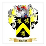 Weakley Square Car Magnet 3