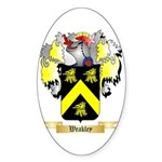 Weakley Sticker (Oval 50 pk)