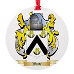 Wayte Round Ornament