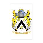 Wayte Sticker (Rectangle 10 pk)