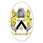 Wayte Sticker (Oval 50 pk)
