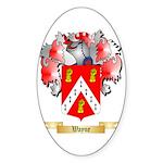 Wayne Sticker (Oval 50 pk)