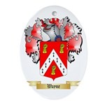 Wayne Oval Ornament