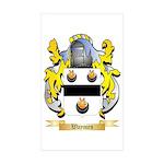 Waymen Sticker (Rectangle 10 pk)
