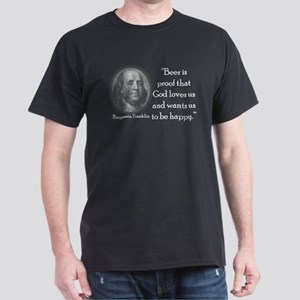 Benjamin Franklin Dark T-Shirt