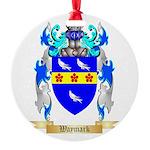 Waymark Round Ornament