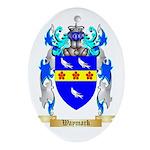 Waymark Oval Ornament