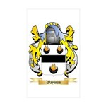 Wayman Sticker (Rectangle 10 pk)