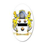 Wayman 20x12 Oval Wall Decal