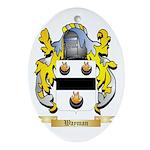 Wayman Oval Ornament